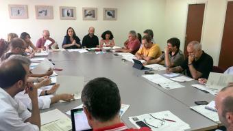 Reunió del consell editorial de l'aigua de dimarts a la tarda Foto:AJUNTAMENT DE TERRASSA