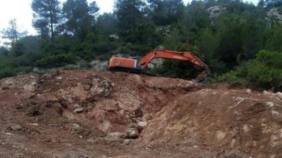 Els veïns van aturar unes obres a la zona que no disposaven de llicència el passat mes de juny Foto:ARXIU