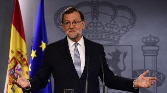 Rajoy va anunciar a La Moncloa que accepta ser candidat a la investidura gerard julien / afp