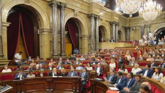 El ple del Parlament va votar dimecres impulsar un 'procés constituent' Foto:EP