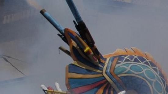 La nit de foc tindrà una representació conjunta de les tres colles sitgetanes. Foto:A. MERCADER