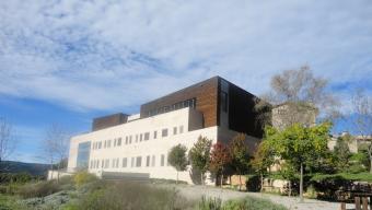 Exterior de les instal·lacions que el Centre Tecnològic Forestal té als afores de Solsona Foto:CTFC