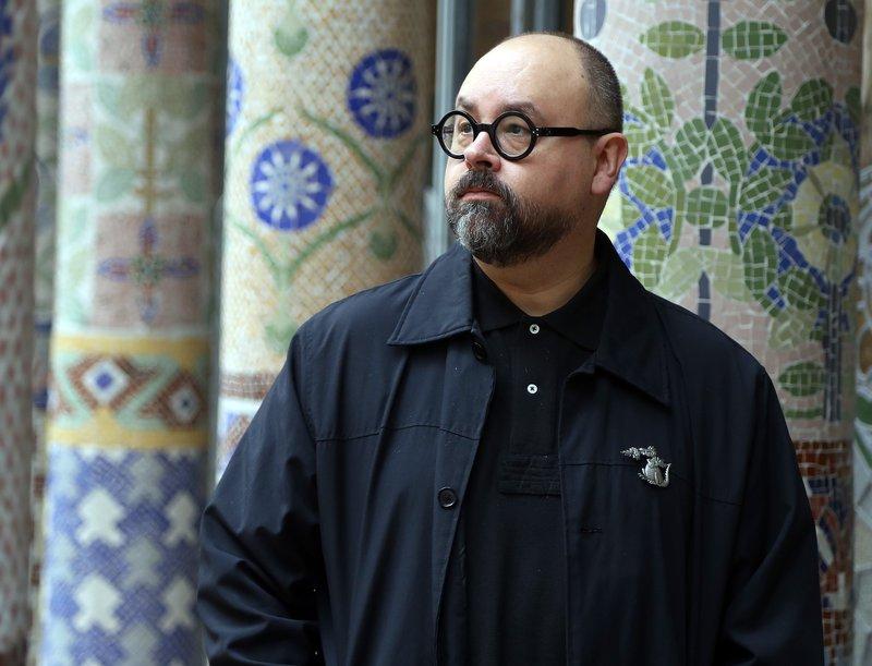 Imatge de l'escriptor Carlos Ruiz Zafón.