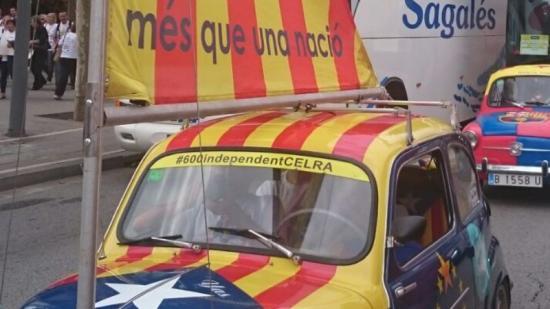 El 600 independentista Foto:PARTICIPARÀ A LA MARXA EMPORDANESA P. PLADEVEYA
