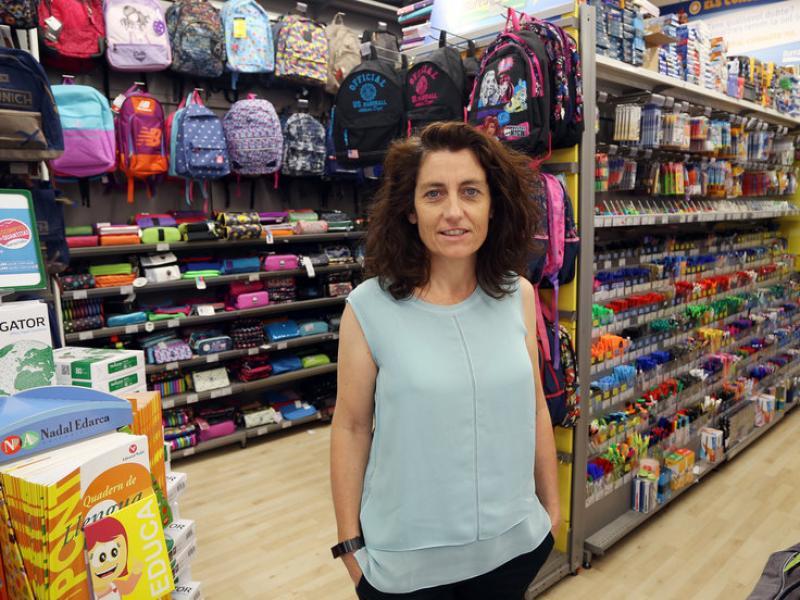Fabienne Maller, directora general de Bureau Vallée a l'Estat espanyol.  Foto:ANDREU PUIG