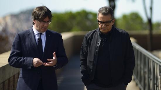 El president és el primer convidat de 'Fora de sèrie'. Foto:TV3