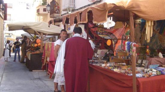 El mercat ibèric va ser impulsat per l'Associació de Mestresses de Casa d'Alcanar, Foto:A.P