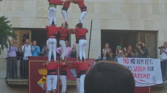 El 5d7 dels Maduixots dissabte a Calella Foto:T.M