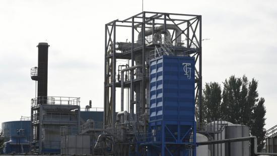 La planta de Tracjusa és propietat de l'energètica Audax i de 160 ramaders Foto:SANTI IGLESIAS