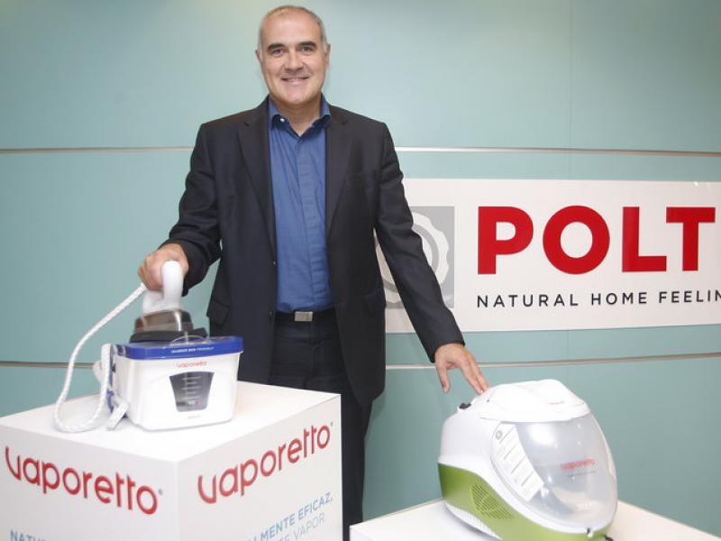 Rafael Román és el director general del fabricant d'electrodomèstics a Espanya i Portugal.  Foto:ORIOL DURAN
