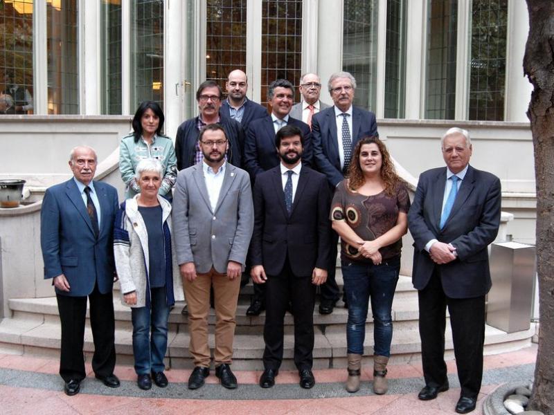 Reunió del COC, el mes passat Foto:L'ESPORTIU