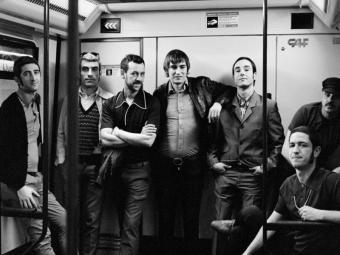 Retrovisores actuen a l'Upload del Poble Espanyol Foto:MIREIA BORDONADA