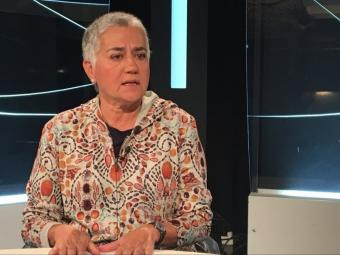Isabel Alonso, durant l'entrevista al programa L'Illa de Robinson Foto:PEP PADRÓS