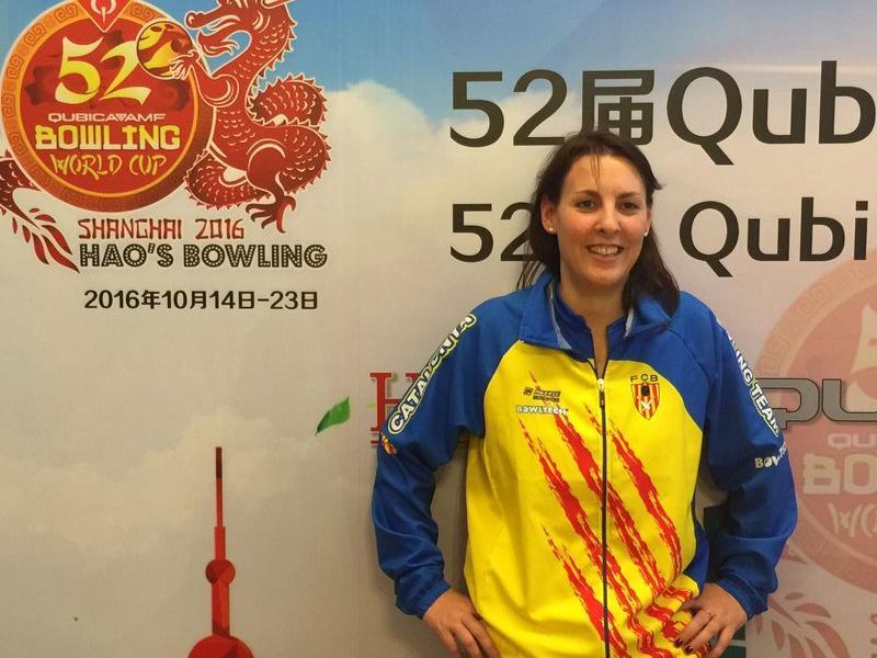 Cristina Sanz, en la copa del món de Xangai Foto:FCB