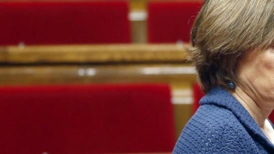 La presidenta del Parlament, Carme Forcadell, la setmana passada a l'hemicicle Foto:EFE / ANDREU DALMAU