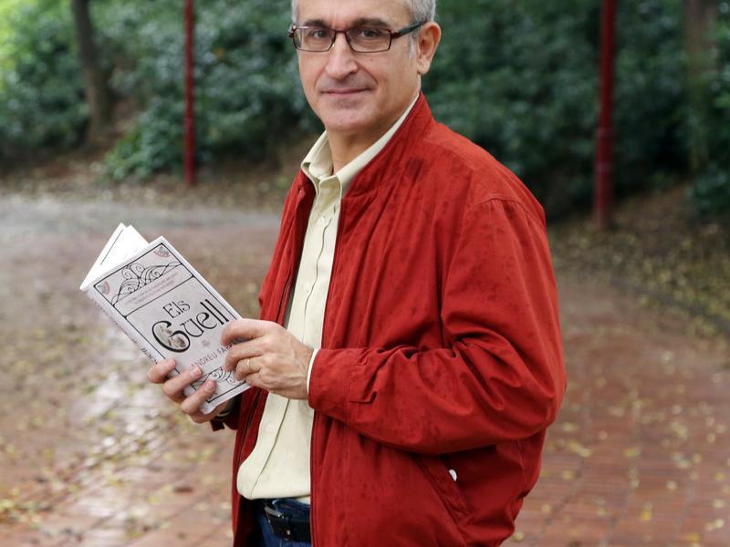 Andreu Farràs és també coautor de 'L'oasi català', 'El 23-F a Catalunya', 'L'ascensor' i 'Miquel Roca, l'últim segon'.  Foto:ANDREU PUIG