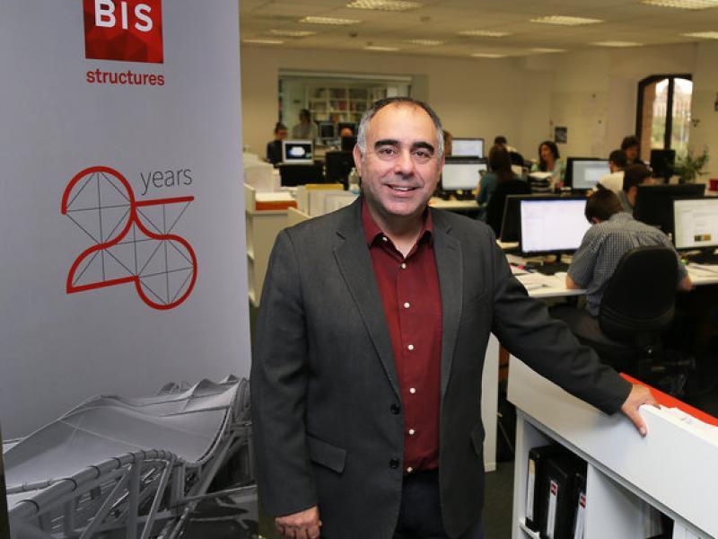 David Garcia i Carrera, a la seu de la companyia.  Foto:ORIOL DURAN