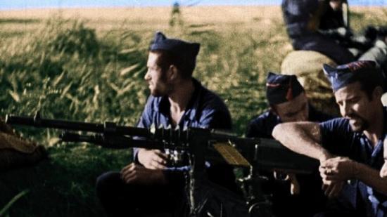 Milicians de la CNT al front  COM_EPANOTICIES_FOTO:MINORIA ABSOLUTA