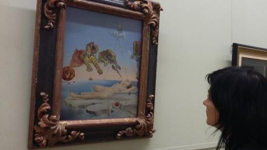 El Dalí més important que s'exposa al Museu de l'Hermitage de Sant Petersburg, propietat del Museu Thyssen Foto:DAMIÀ MARTÍNEZ