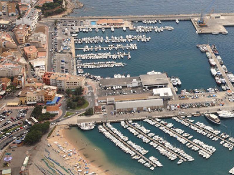 Vista aèria del Port de Palamós. Foto:EL PUNT AVUI
