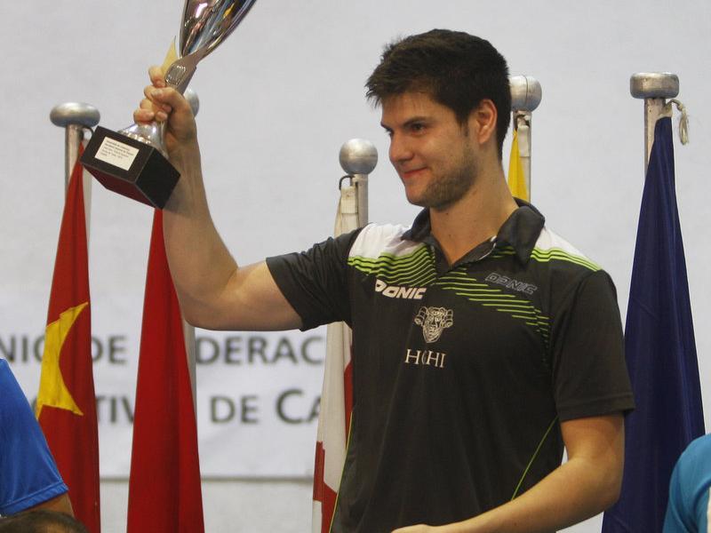 El guanyador dels dos darrers anys, l'alemany Dimitrij Ovtcharov. Foto:O. DURAN