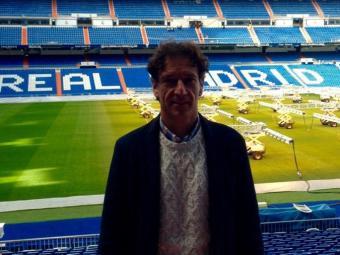 Alfonso, al Santiago Bernabéu. Actualment viu a Palma Foto:@ALFONSITO0007