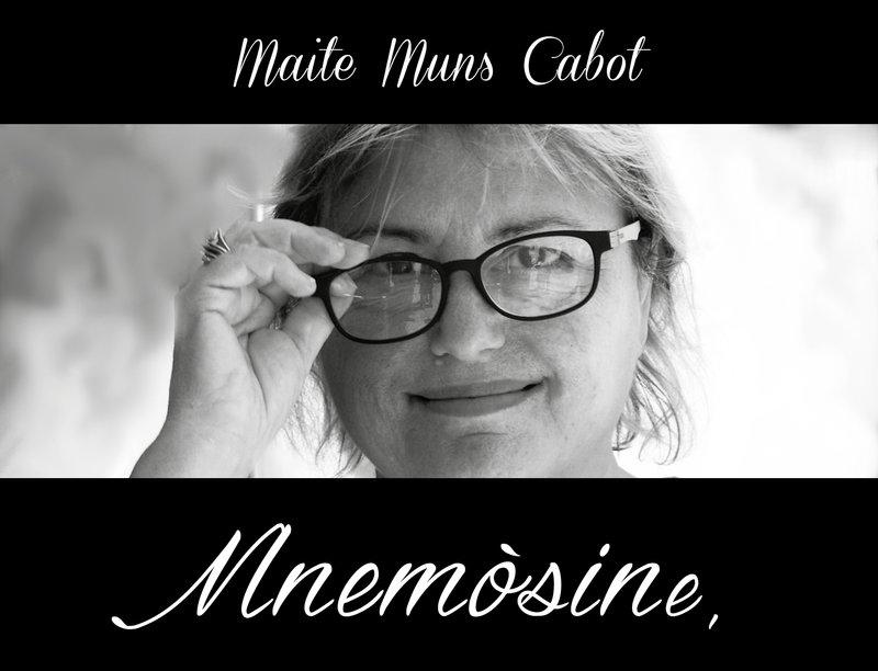Imatge de Maite Muns, a la portada del llibre.
