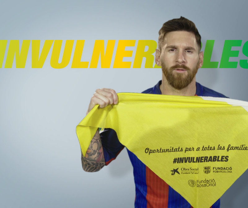 Leo Messi se suma al proyecto Invulnerables