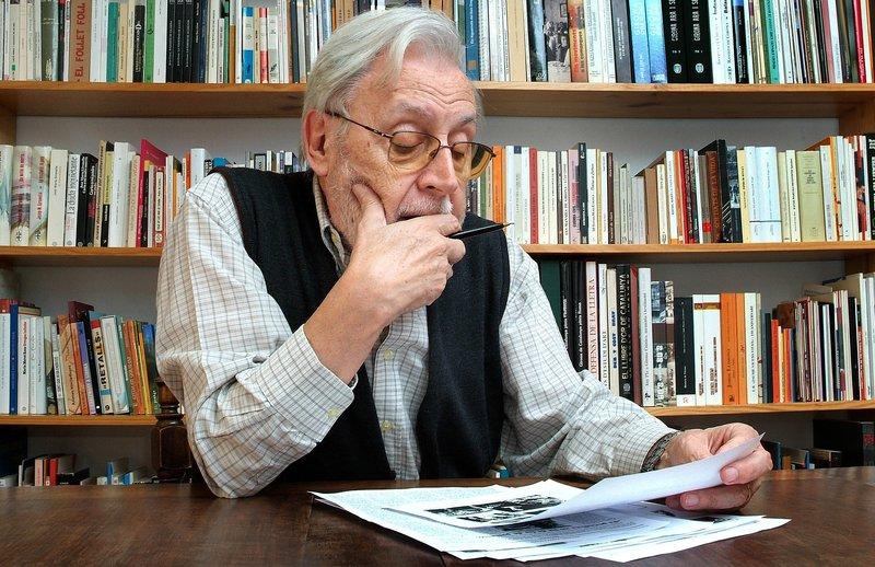 Imatge de Narcís-Jordi Aragó de l'octubre del 2009.