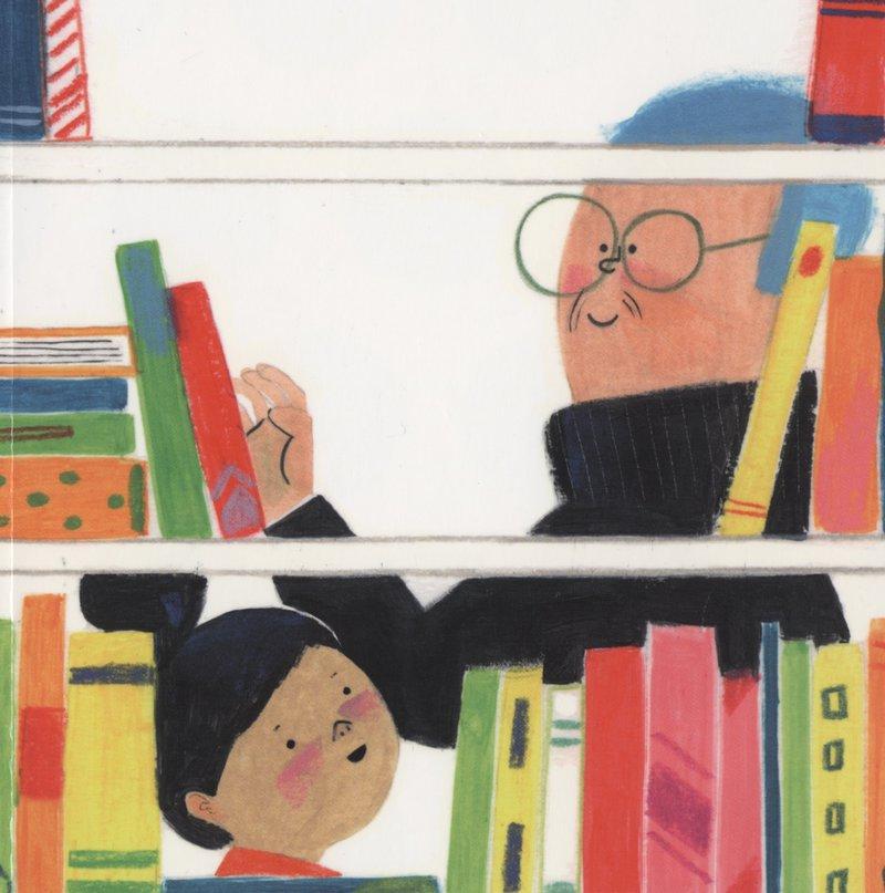 Imatge d'una de les il·lustracions del llibre, obra de Sandra de la Prada, amb els protagonistes.