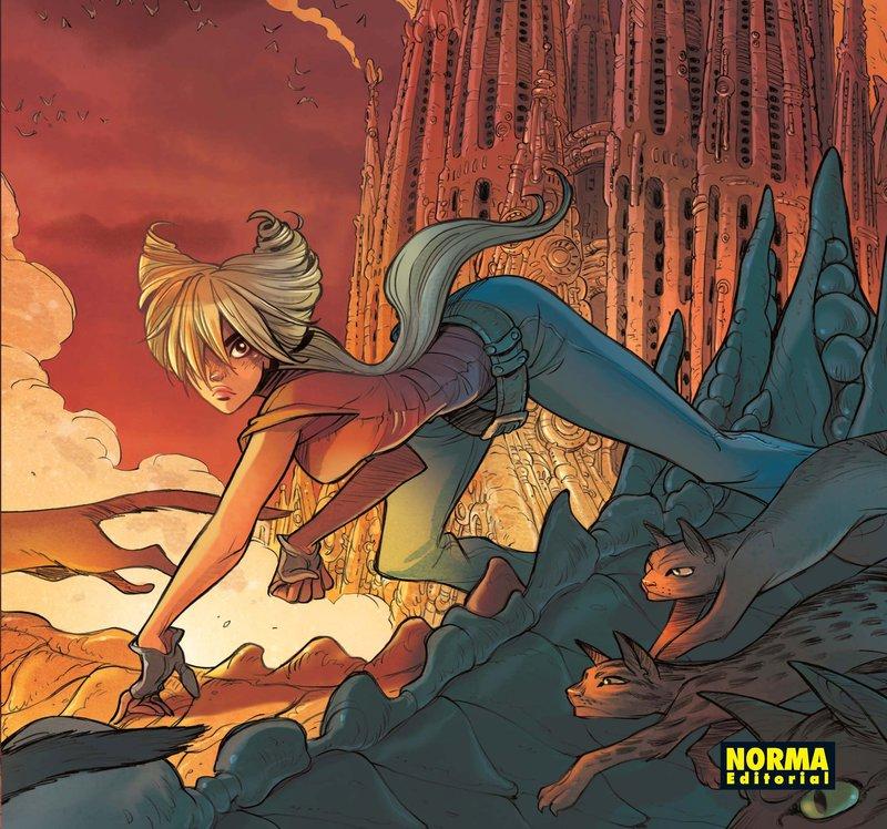 Imatge d'una portada del còmic 'Ekhö', d'Arleston, Barbucci i Ñebreton, protagonista d'una exposició.