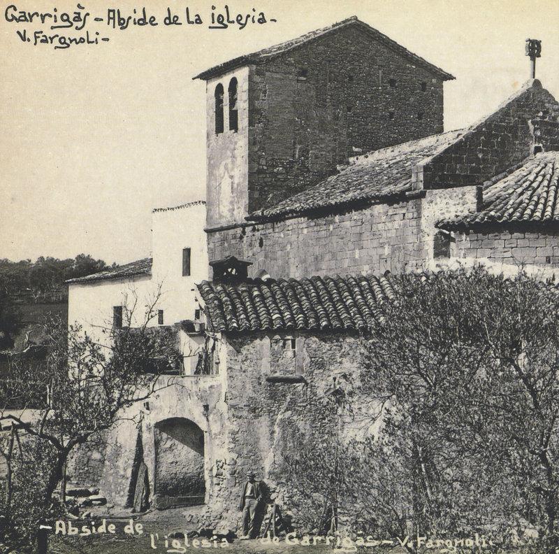 Imatge de la portada de la revista dedicada a Garrigàs.
