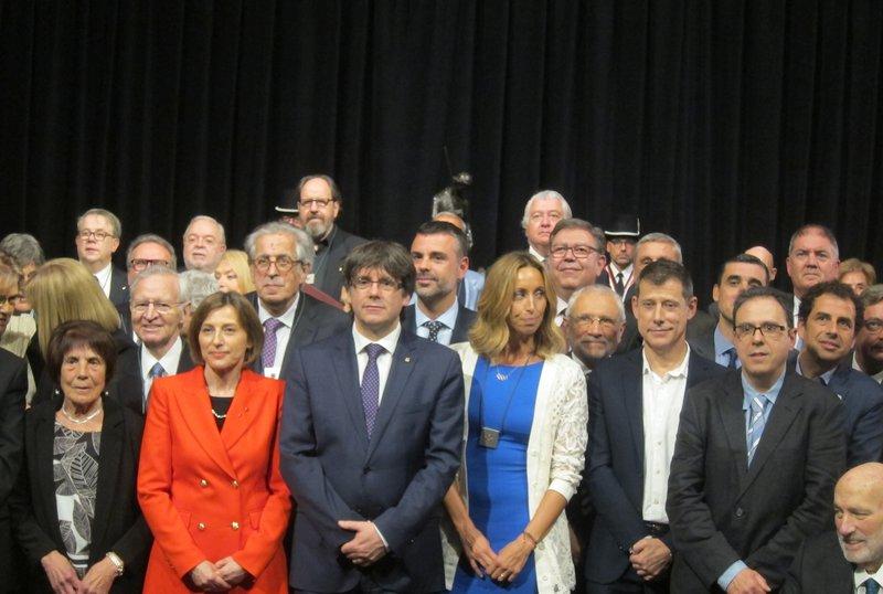Los amigos de Puigdemont