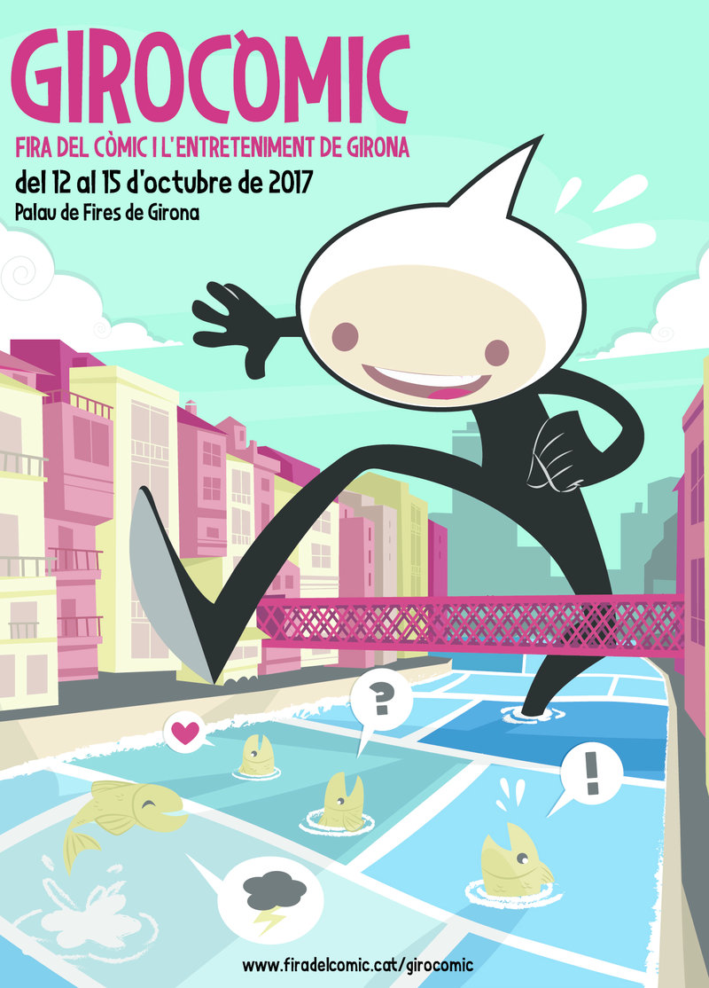 Imatge del cartell d'aquesta edició, que és obra de l'il·lustrador gironí Xavier Felip.