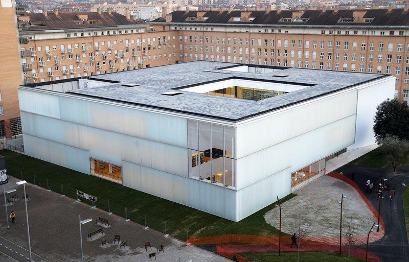 Imatge de la biblioteca pública Carles Rahola.
