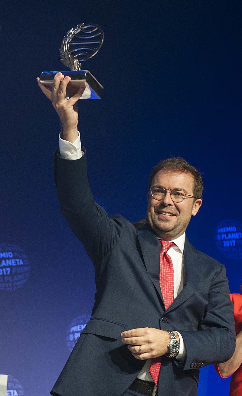 Imatge de Javier Sierra, guanyador del premi Planeta.