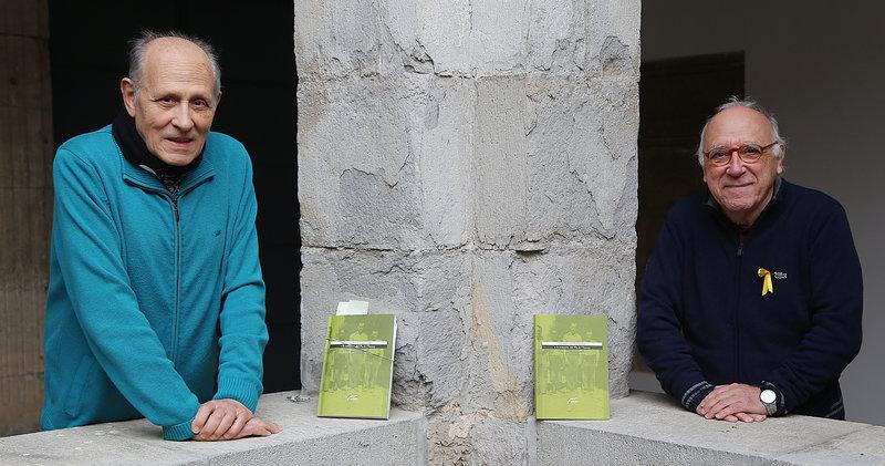 Imatge dels dos escriptors.