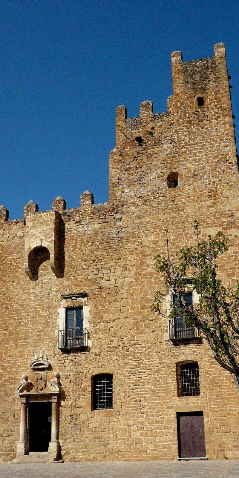 Imatge de la plaça del Castell de la Bisbal, que serà el marc de l'Indilletres.