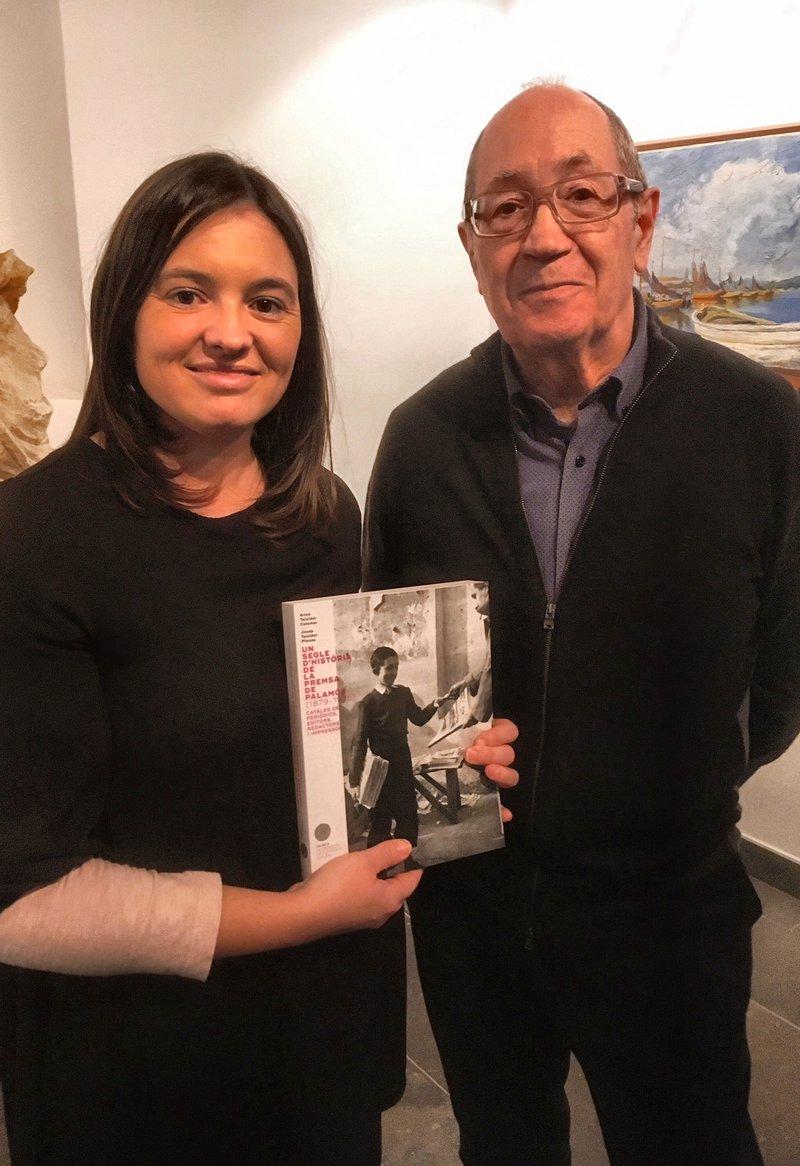 Imatge d'Anna i Josep Teixidor, els autors del llibre.