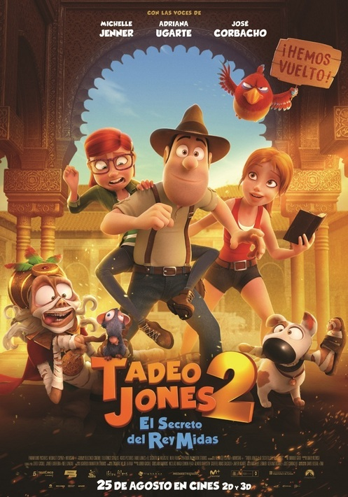 Tadeu Jones 2: El secret del rei Mides