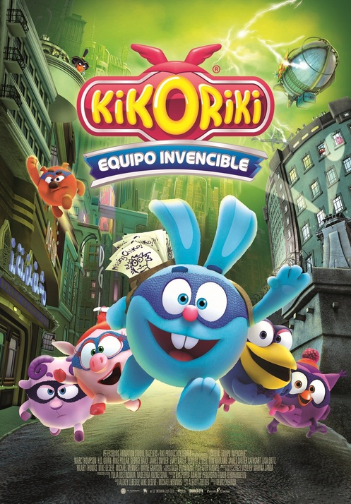 Kikoriki. Equip invencible